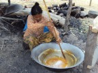 What happens if you replace refined sugar by Cambodian Palm Sugar?